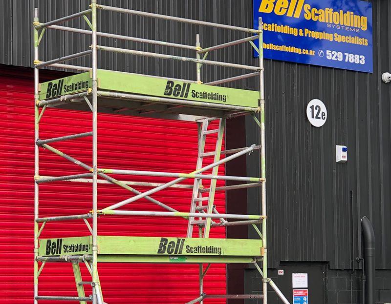 Aluminium Scaffolds Bell Scaffolding Auckland