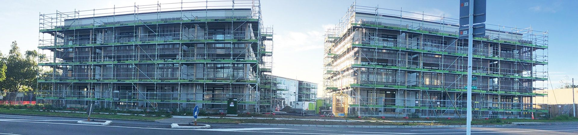 Commercial Scaffolding Shoreloading Auckland