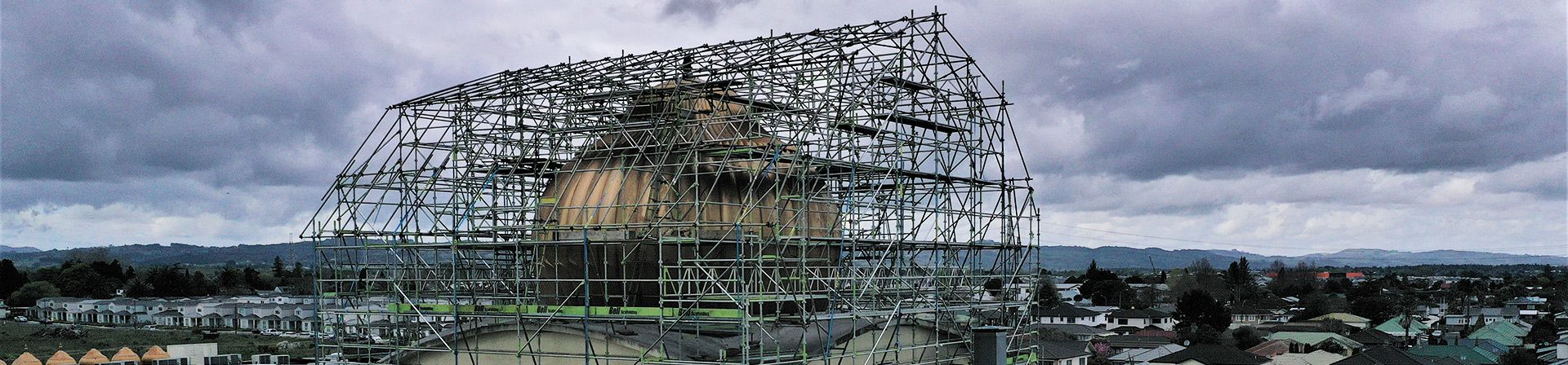 Shrinkwrapping - Bell Scaffolding - High-end Commercial and Light Industrial Scaffolders