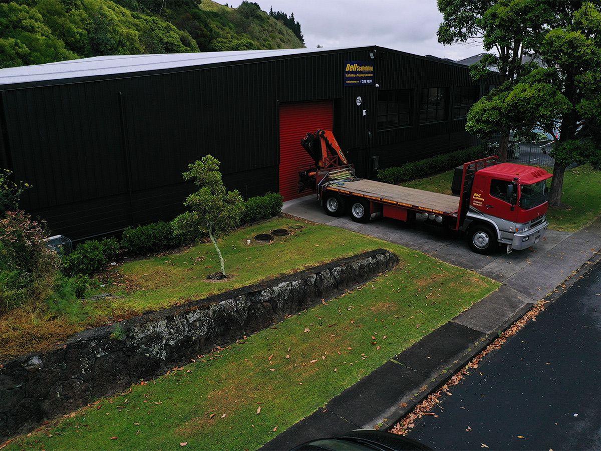 Bell Scaffolding Warehouse Auckland