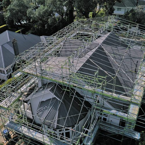 RIDINGS ROAD SHRINK Wrap - Bell Scaffolding - High-end Commercial and Light Industrial Scaffolders